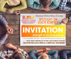 Macleay Valley Chamber Evening, Spotlight on South Kempsey @ Oasis Day Program Building ,
