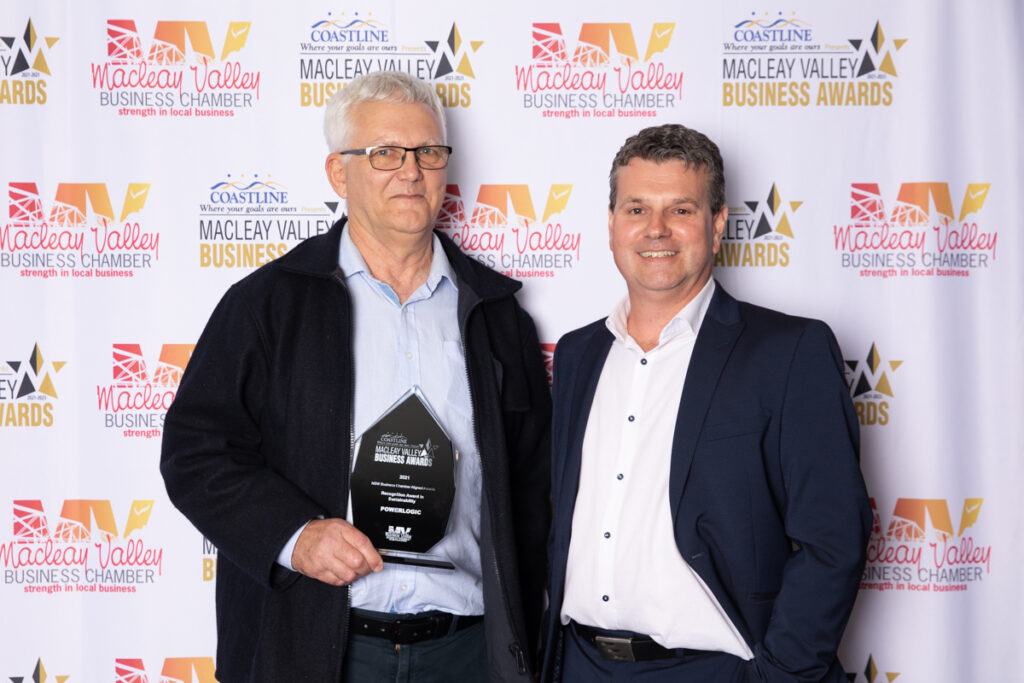 RECOGNITION IN SUSTAINABILITY: PowerLogic. Award Presented by: Mike Crowhurst, Southern Cross Austereo