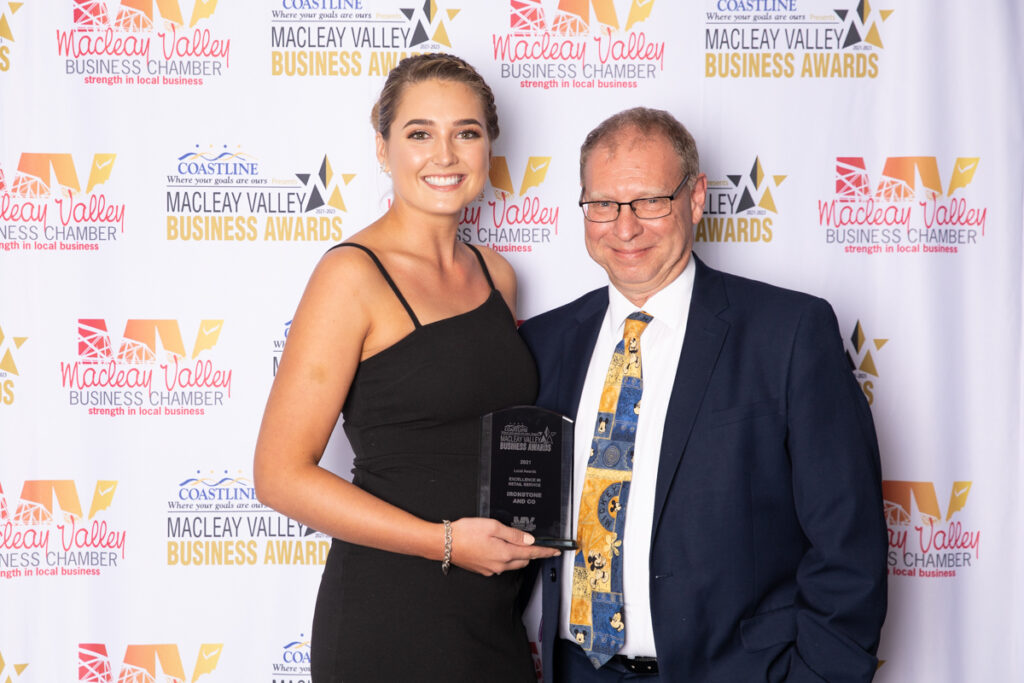 WINNER, EXCELLENCE IN RETAIL SERVICE: Ironstone and Co. Award presented byKeiren Dell, Majestic Cinemas